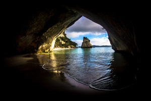 Cave On The Ocean