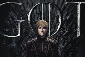 Cersie Lannister Game Of Thrones Season 8 Poster