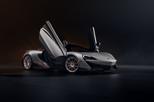 Cgi McLaren 600LT