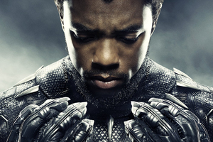Chadwick Boseman Black Panther 2018 Movie