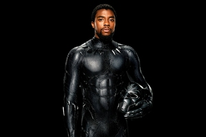 Chadwick Boseman Black Panther 4k