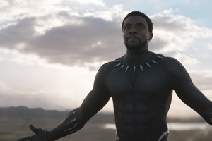 Chadwick Boseman Black Panther Movie