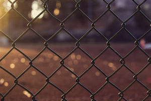 Chain Fence Outdoors 5k Wallpaper