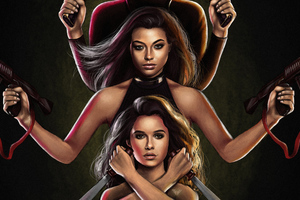 Charlies Angels 2019 Art Wallpaper