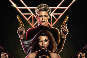 Charlies Angels 2019 Artwork Wallpaper