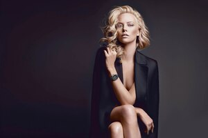 Charlize Theron Dior 2019 Wallpaper