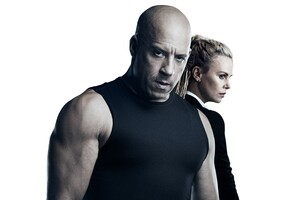 Charlize Theron Vin Diesel The Fate of the Furious Wallpaper