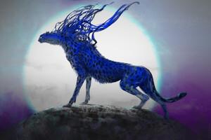 Cheetah Digital Concept Art