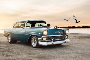 Chevrolet Bel Air Sport Coupe Wallpaper