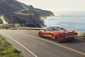 Chevrolet Corvette C8 Stingray Convertible 2020 Wallpaper