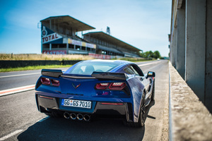 Chevrolet Corvette Grand Sport Rear