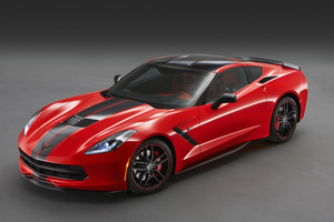 Chevrolet Corvette Stingray Coupe Pacific Wallpaper