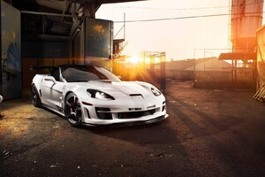 Chevrolet Corvette White