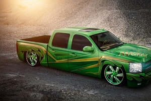 Chevrolet Silverado Lowrider Wallpaper