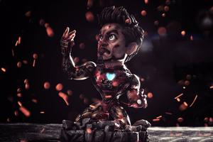 Chibi I Am Iron Man