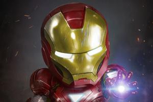 Chibi Iron Man Artwork