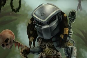Chibi Predator 4k