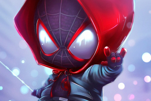 Chibi Spider Miles Wallpaper