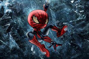 Chibi The Amazing SpiderMan