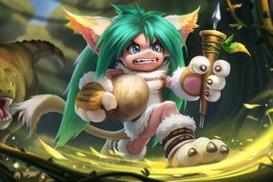 Child Dream Hunter Heros Blade 4k Wallpaper