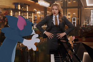 Chloe Grace Moretz Tom And Jerry Movie