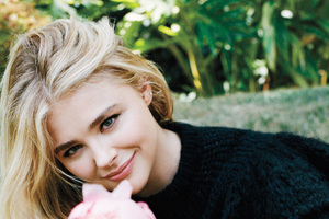 Chloe Moretz Allure Photoshoot