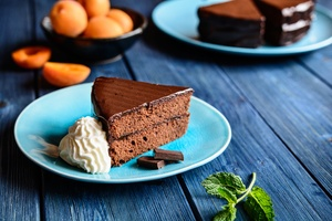 Chocolate Dessert Pastry Cake 5k Wallpaper