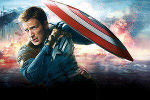 Chris Evans Captain America Army 8k Wallpaper