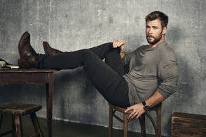 Chris Hemsworth 2017 Photoshoot