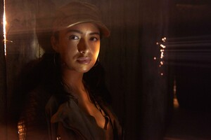Christian Serratos In Walking Dead Wallpaper