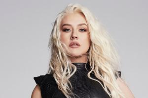 Christina Aguilera Health Magazine 4k Wallpaper