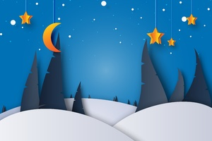 Christmas Digital Art 5k Wallpaper