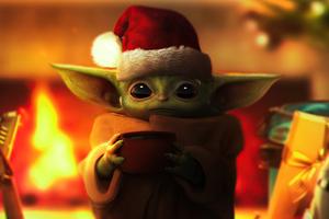 Christmas Grogu 5k