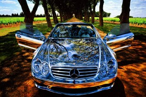 Chrome Mercedes Benz