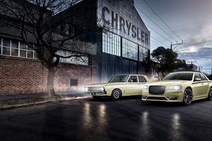Chrysler 300 SRT Pacer Tribute 4k Wallpaper