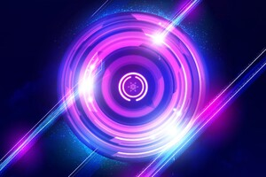 Circle Digital Art Wallpaper