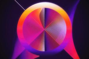 Circular Abstract Art 4k