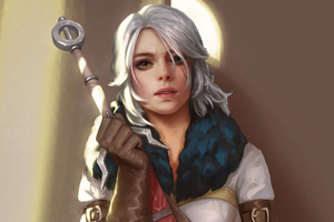 Ciri The Witcher 3 Game 4k