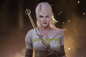 Ciri The Witcher 3 Wild Hunt 4k