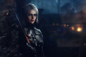 Ciri The Witcher 3 Wild Hunt Fantasy Art