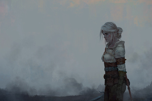 Ciri The Witcher 3 Wild Hunt Fantasy Girl