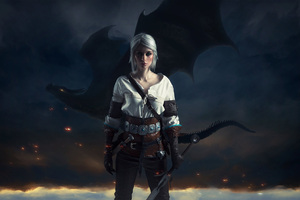 Ciri The Witcher 3 Wild Hunt