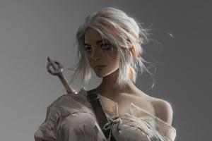 Ciri The Witcher 4k
