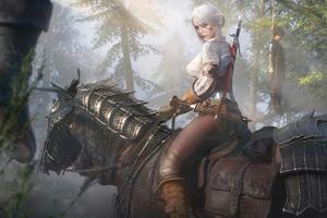 Ciri The Witcher Wild Hunt 3