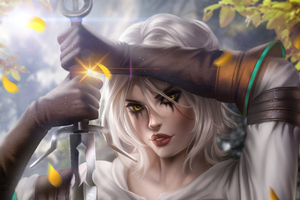 Ciri Witcher 3 Art