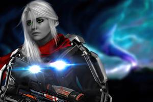 Ciri With Gun 4k