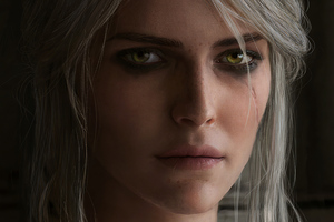Cirilla Fiona Elen Riannon Witcher 3 Wallpaper