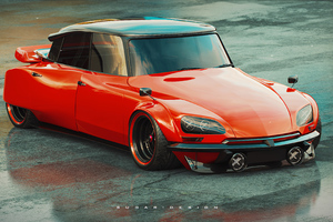 Citroen Ds Concept Artwork Wallpaper