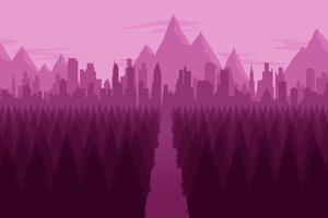 City Forest Minimalist