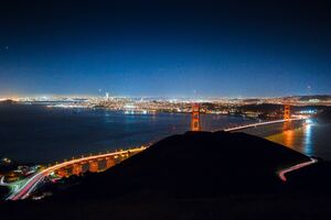 City Lights San Francisco 5k Wallpaper